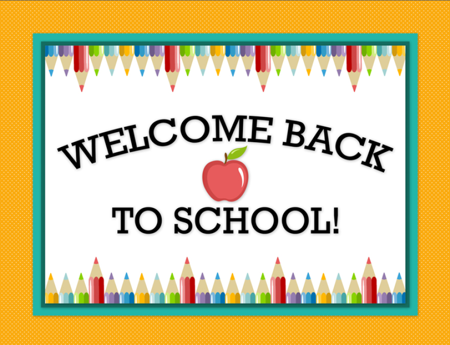 Welcome Back To School Teachers Clipart