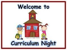 BBQ and Curriculum Night September 22